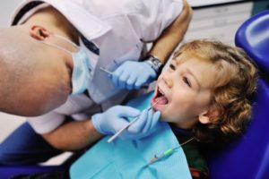 root canal on child
