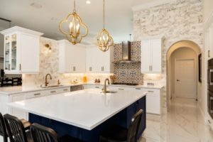 luxury kitchen interior