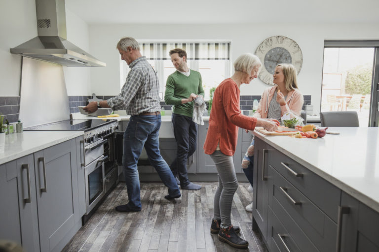 people inside the kitchen