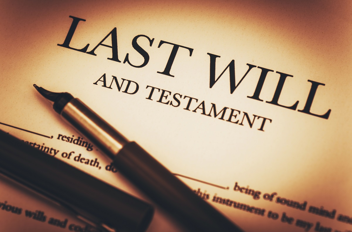last wil and testament