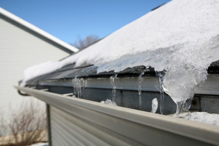roof during winter