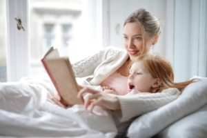 reading with child